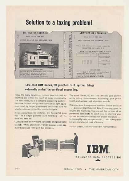 IBM Series/50 Punched Card Accounting System (1960)