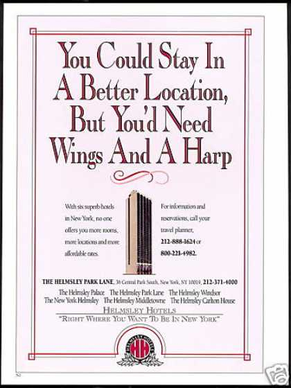 Helmsley New York Superb Six Hotels (1992)