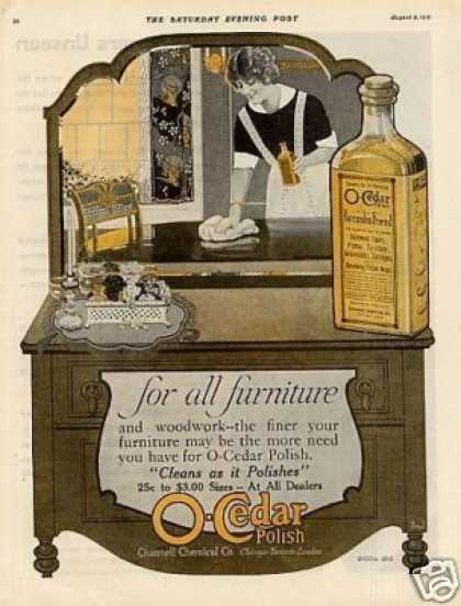 O-cedar Polish Color (1919)