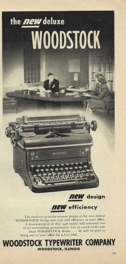 Woodstock Typewriter (1948)