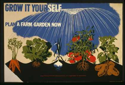 Grow it yourself – Plan a farm garden now. (1941)