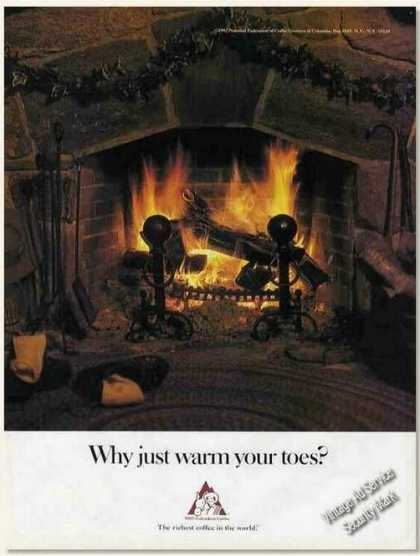 """Why Just Warm Your Toes?"" Columbian Coffee (1987)"