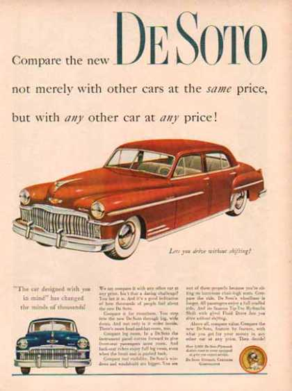 Plymouth Desoto Car – Red (1949)