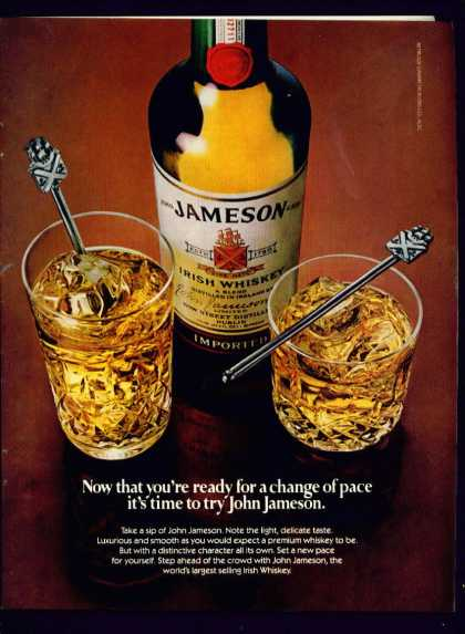 John Jameson Irish Whiskey C (1982)