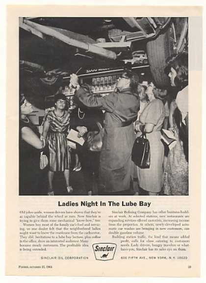 Ladies Night in the Lube Bay Sinclair Oil (1964)