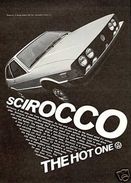 VW Volkswagen Scirocco Photo Hot One (1975)