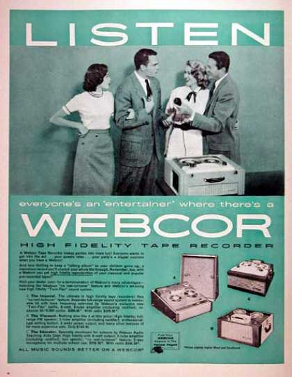 Webcor Tape Recorder (1957)