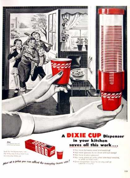 Dixie Cup Dispenser (1954)