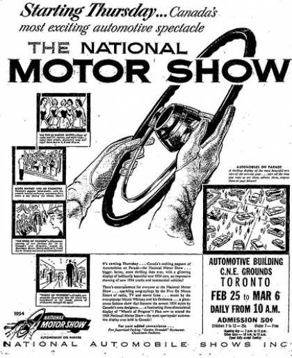 vintage car advertisements of the 1950s  page 122