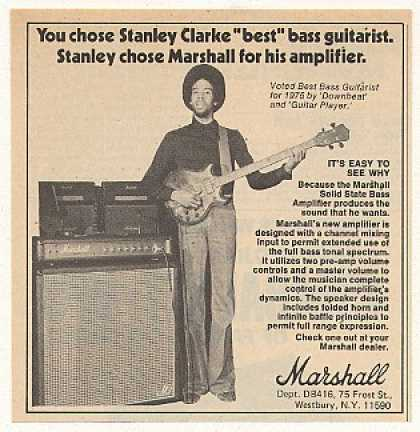 Stanley Clarke Marshall Bass Amplifier (1976)