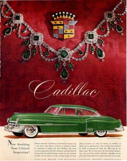 Cadillac Harry Winston Jewels Necklace (1950)