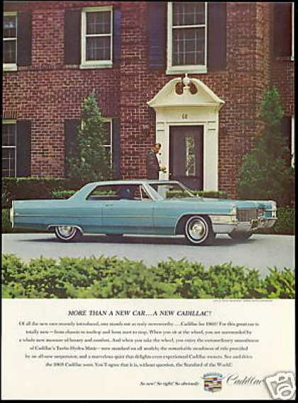 Turquoise Cadillac 2 Dr Photo Vintage (1965)