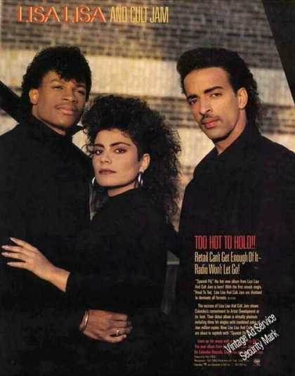 Lisa Lisa and Cult Jam Photo Large Music (1987)