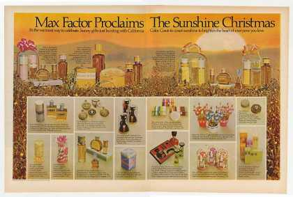Max Factor Sunshine Christmas (1969)
