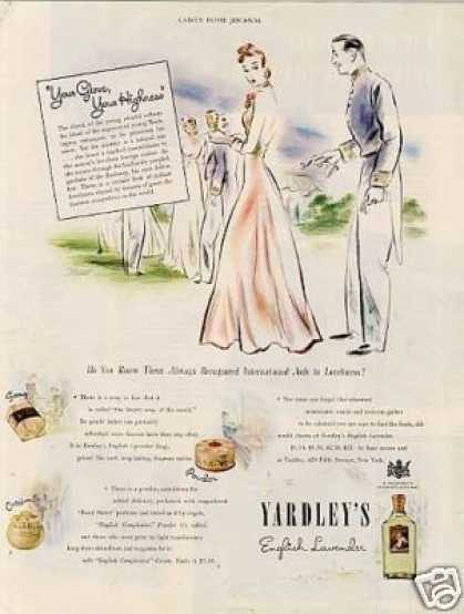 Yardley English Lavender (1940)