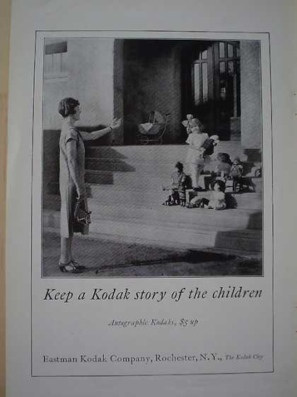 Eastman Kodak Children AND Willy's Knight 70 Auto (1926)