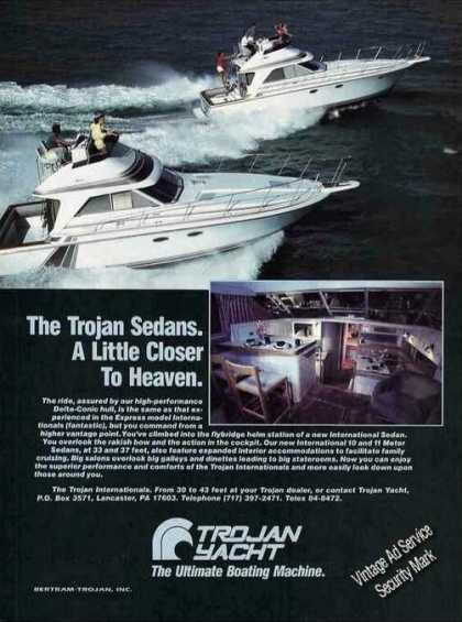 Trojan Sedans 33' & 37' Photos Closer To Heaven (1985)
