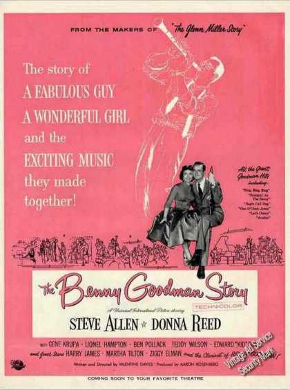 """The Benny Goodman Story"" Movie (1956)"
