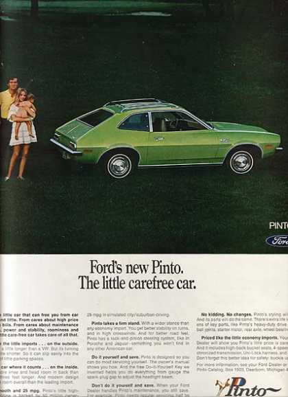 Ford's Pinto (1970)