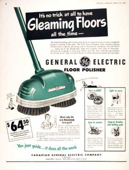GE Floor Polisher (1951)