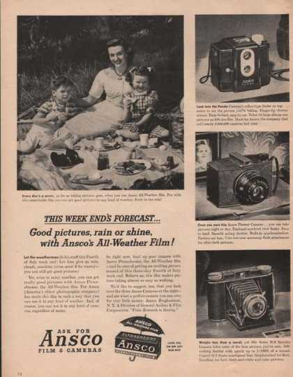Ask for Ansco Film & Cameras (1949)