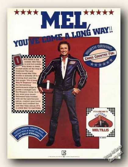 Mel Tillis Photo Country Music Promo (1982)
