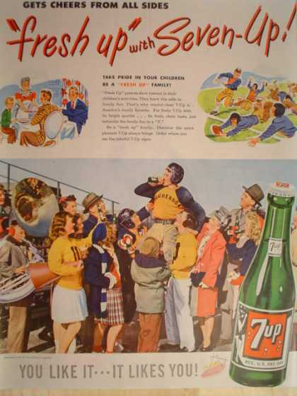 7 UP Fresh Up Football theme (1947)