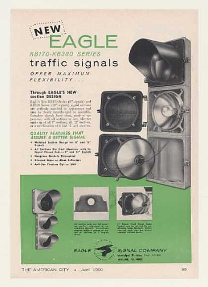 Eagle KB170 KB380 Traffic Signals (1960)