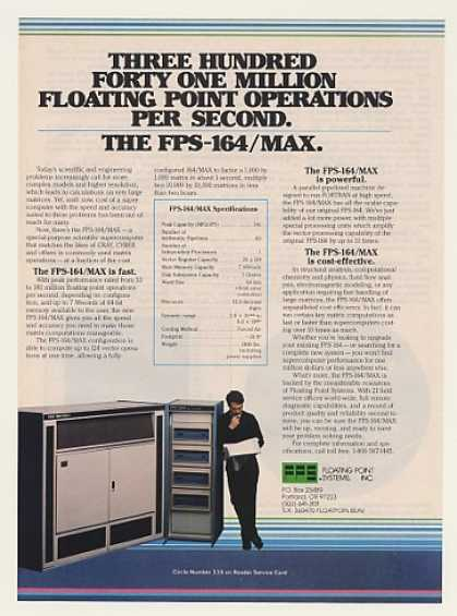 '84 Floating Point Systems FPS-164/MAX Supercomputer (1984)