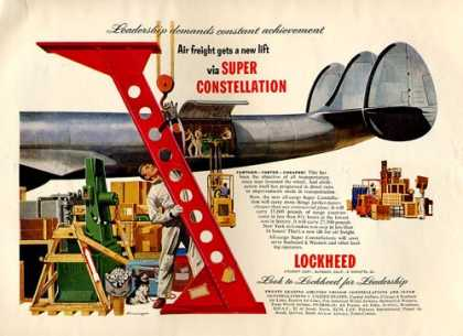 Lockheed Super Constellation Plane (1953)