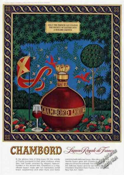 "Chambord Liqueur Royale De France ""Sublime"" (1979)"