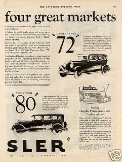 Chrysler Cars Ad 2 Page (1928)