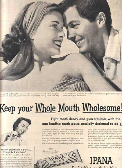 Ipana's Tooth Paste (1950)
