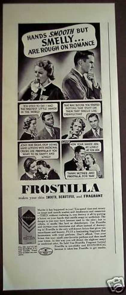 Frostilla Fragrant Hand Lotion (1938)