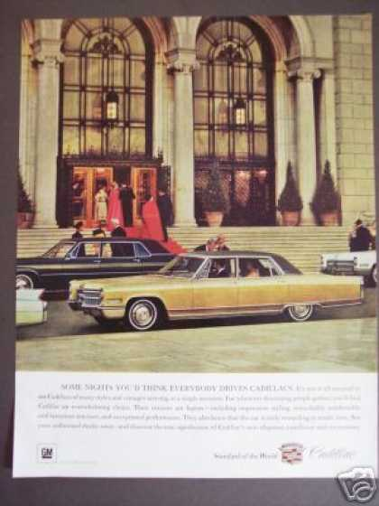 Original Gm Gold Cadillac Car (1966)