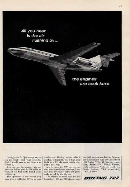 Boeing 727 Airplane Jet (1964)
