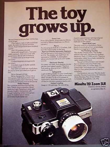Minolta 110 Zoom Slr Camera (1977)