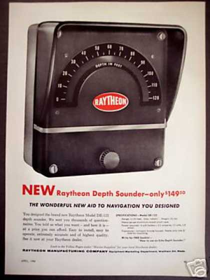 Raytheon De-122 Depth Sounder (1956)