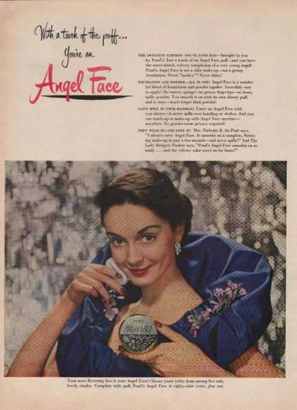 Ponds Angel Face Makeup (1949)
