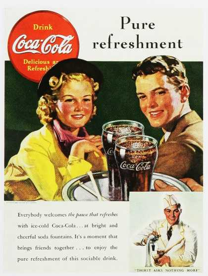 Coca-Cola – Pure refreshment
