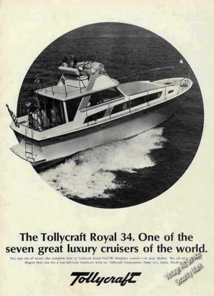 Tollycraft Royal 34 Photo Kelso Wa Boat (1970)