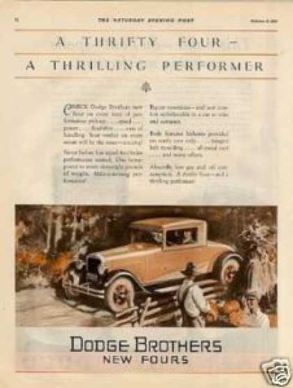 Dodge Brothers Car Color (1927)