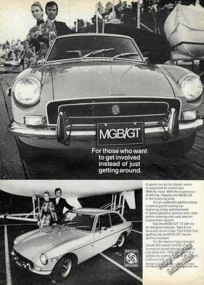 Mgb/gt Performance Oriented Grand Touring Car (1972)