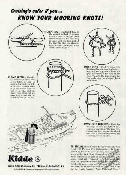 Know Your Mooring Knots! Kidde (1956)
