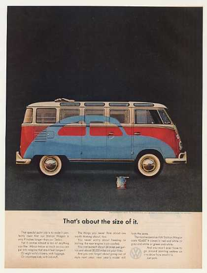 VW Volkswagen Beetle Painted on Station Wagon (1963)