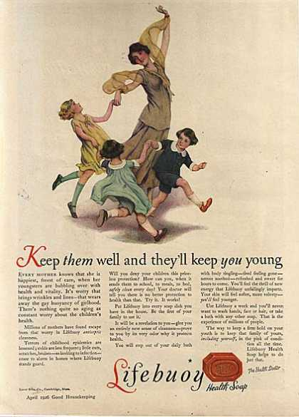 Lifebuoy's Health Soap (1926)
