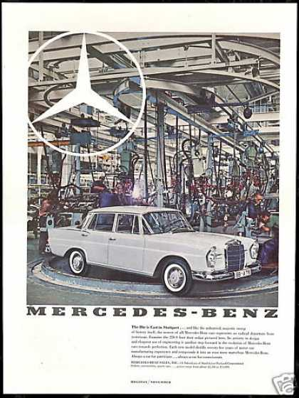 Mercedes Benz 220S 220-S Sedan Photo Vintage (1960)