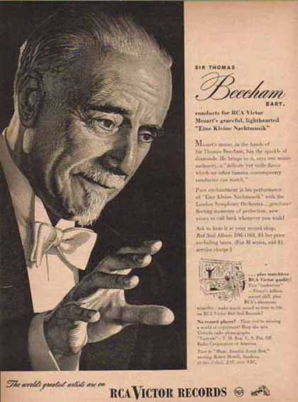 RCA Corporation of America – Sir Thomas Beecham (1947)