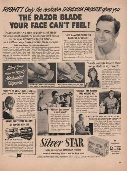 Silver Star Razor Blade Dispenser (1950)