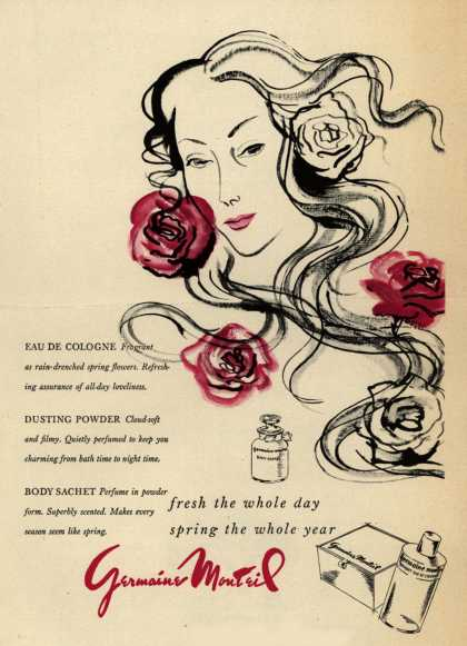 Germaine Monteil's Various – fresh the whole day spring the whole year (1947)
